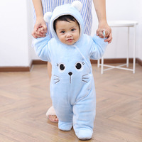 Baby Clothes Thickened Winter Clothes Cotton Clothes Baby 0 3 Months Baby Girl Clothes Newborn Footies Baby Clothing