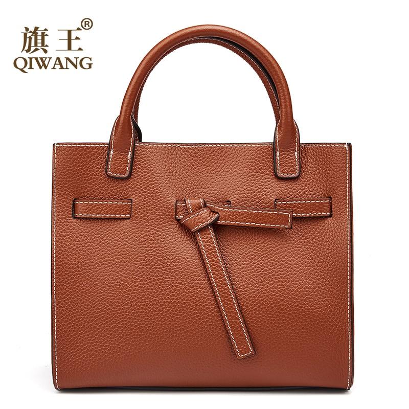 Women Bag 100% Genuine Leather Women Belt Handbag Luxury Brand Leather Women Bag Soft fashion tote bag for women women 100