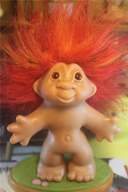 Big Vintage Troll Doll Toy Children Birthday Christmas Gift Limited Collection In Dolls From