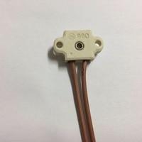 BW 990 מחזיק מנורת קרמיקה הנורה הלוגן G4 GY4 GZ4, בעל מיקרוסקופ