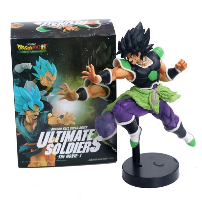 Anime Dragon ball Z Super Ultimate Soldiers The Movie Broly Figurine PVC Action Figure Collectible Model Toys Doll figurine