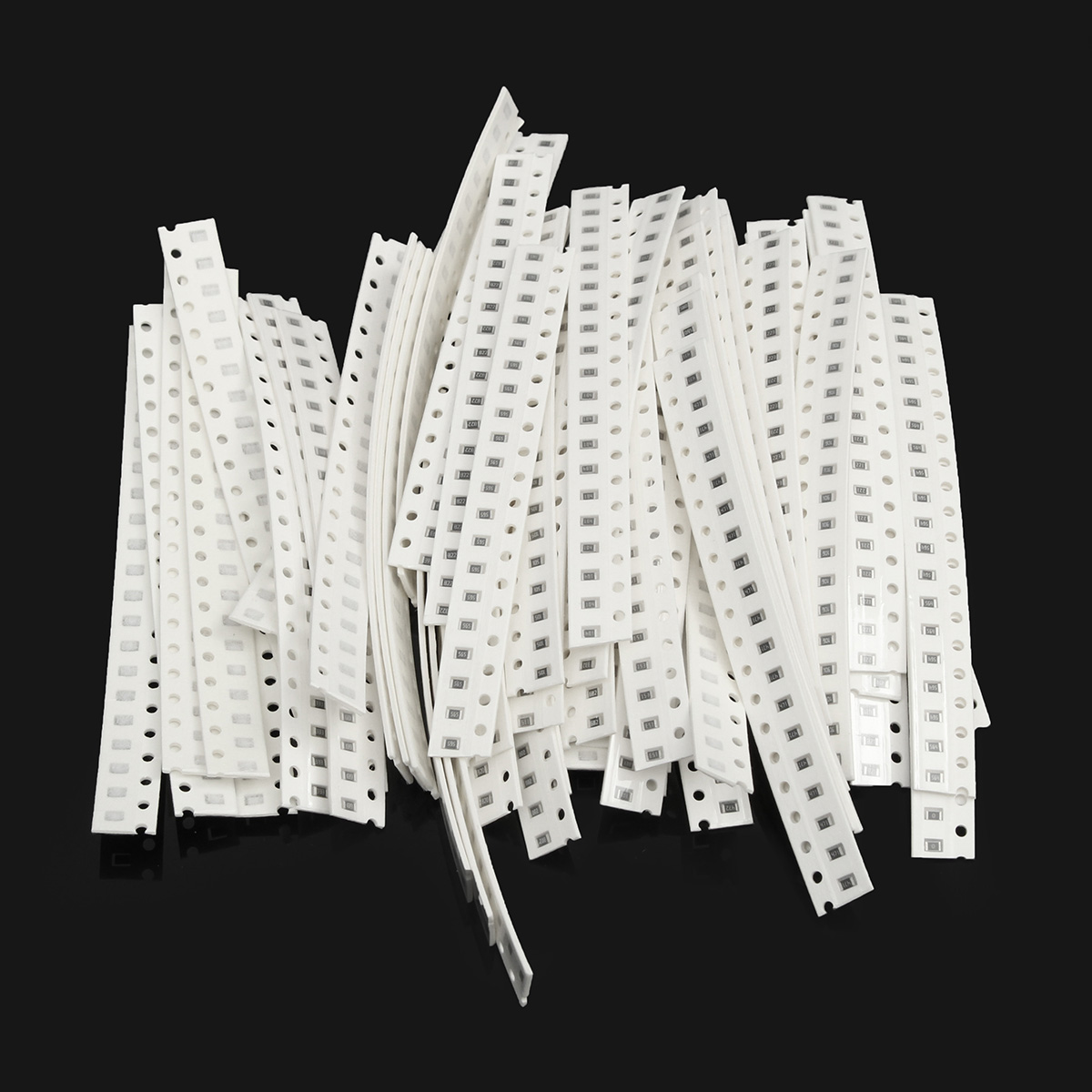 0805 SMD <font><b>Resistor</b></font> Assortment Kit Chip 5% 0ohm-<font><b>10Mohm</b></font> 64 Values 1280pcs Sample Kit image