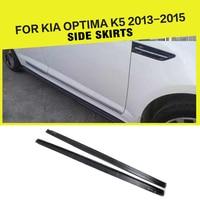 Carbon Fiber Auto Car Side Skirts For Kia K5 Optima 2013 2015