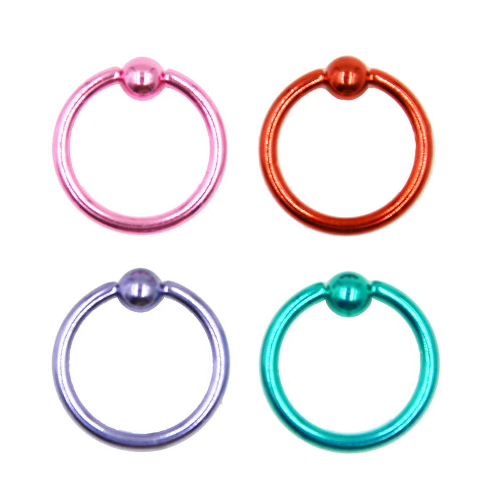 4Pc Mixed Color Anodized...