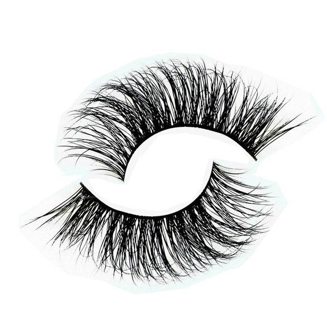 12Pcs Handmade 3D Mink eyelash Thick Crossing lashes Natural False Eyelashes for Beauty Makeup