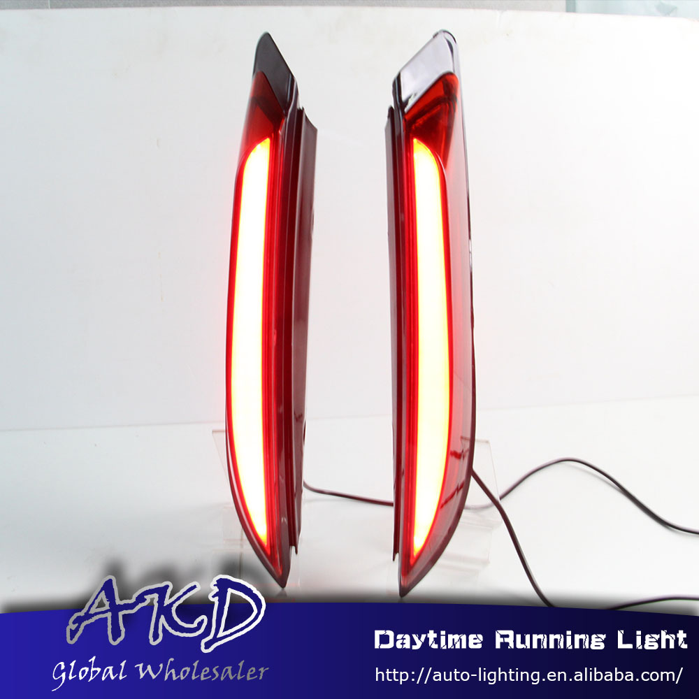 AKD Car Styling for Ford Everest Endeavour Rear Pillar Light for Everest 2016 Pillar drl Fog