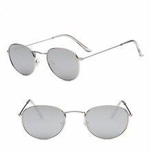 2019 Retro Round Sunglasses Women Brand Designer Sun Glasses For Women Alloy Mirror Sunglasses female oculos de sol