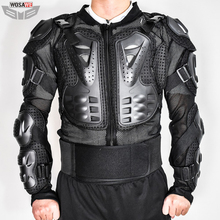 WOSAWE Motorcycle Jacket Chest Armor Back Support Motocross Protector Racing MOTO Protection Gear Turtle