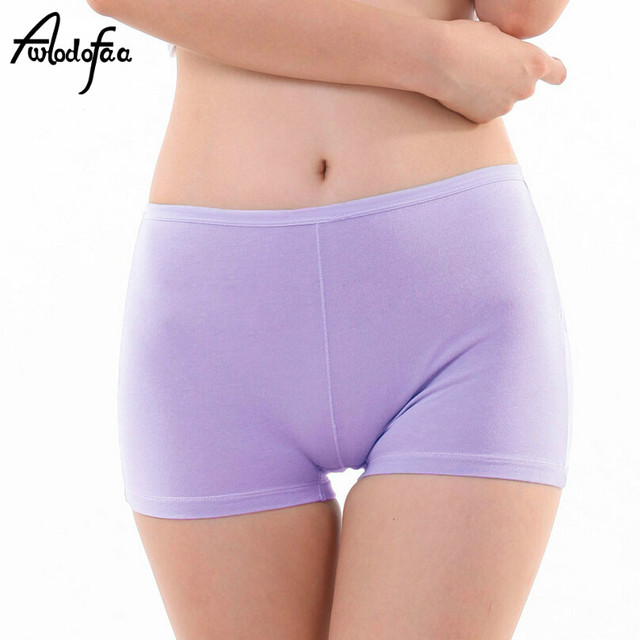 644af6ef0070 Hot 2018 New Fashion Sexy High Quality Female Cotton Panties Women's  Boyshort Ladies Large Size Underwear Girls Underpant Fat