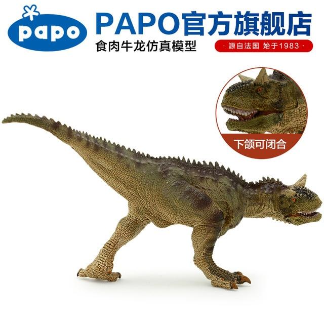 Papo apatosaurus dinosaurio simulado modelo colección del Museo ...