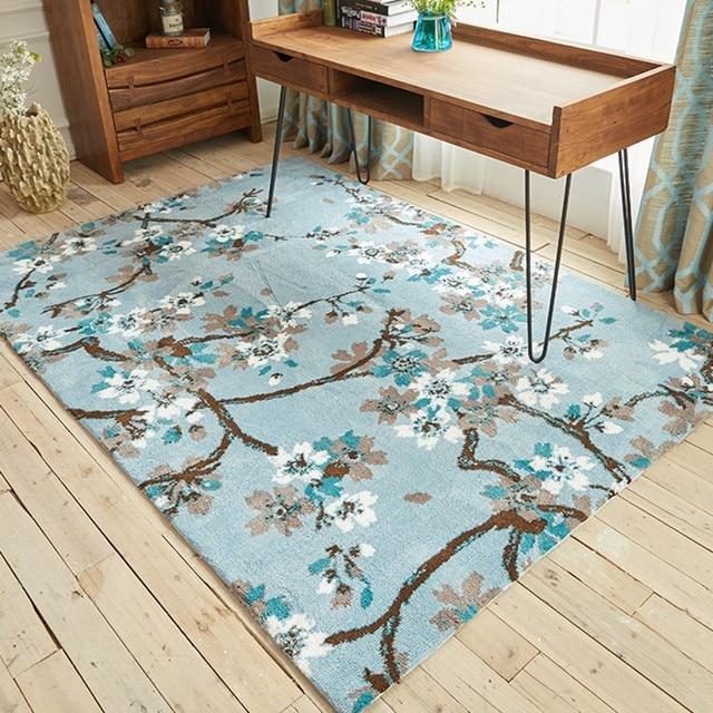 Uberlegen Modernen Chinesischen Malerei Stil Hochzeit Teppich, Große Größe Blumen Wohnzimmer  Teppich, Nacht Teppich Hause