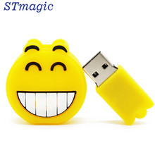 STmagic USB stick 64GB Emoji flash drive pen drive 4GB 8GB 16GB 32GB memory Stick