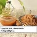 Hot vendedor Cordyceps sinensis (CS-4) polissacarídeo Cordyceps 30% 200 g/lote Frete grátis