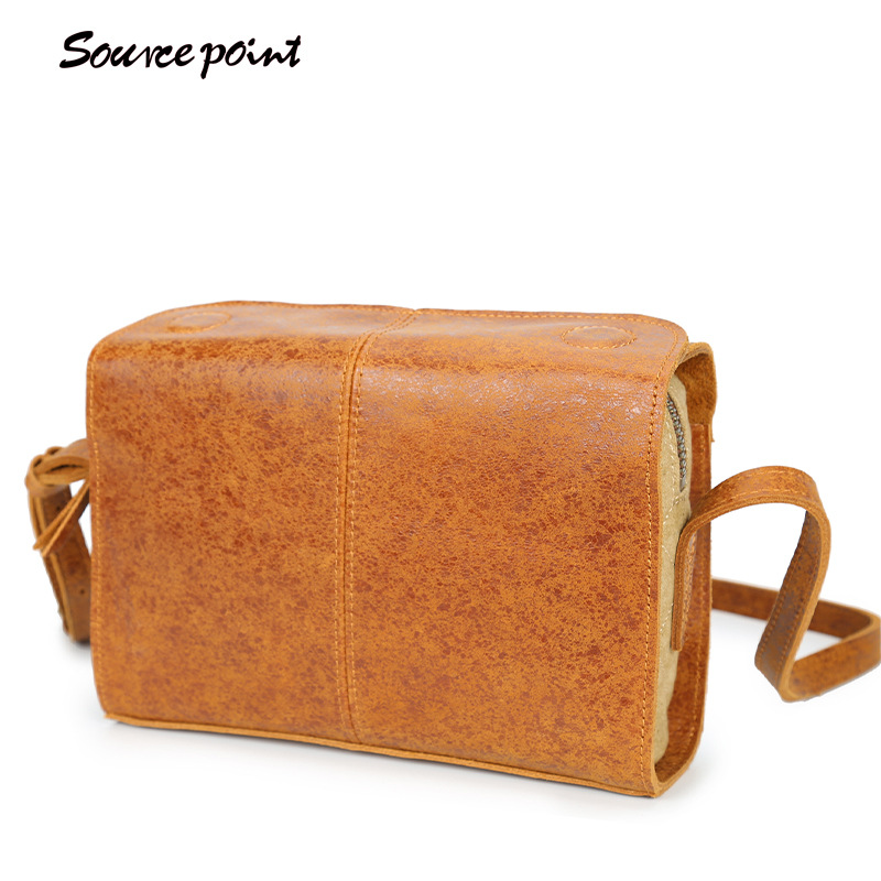 Genuine Cowhide Leather Men Women Shoulder Bag Small Messenger Bags Men Travel Crossbody Bag Handbags Men Bag Flap YD-8187 genuine leather bag cowhide shoulder men