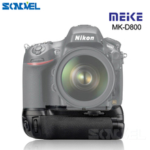 MEIKE D800 вертикальный Батарейный держатель для Nikon DSLR для камеры Nikon D800 D810 как MB-D12 Meike MK-D800