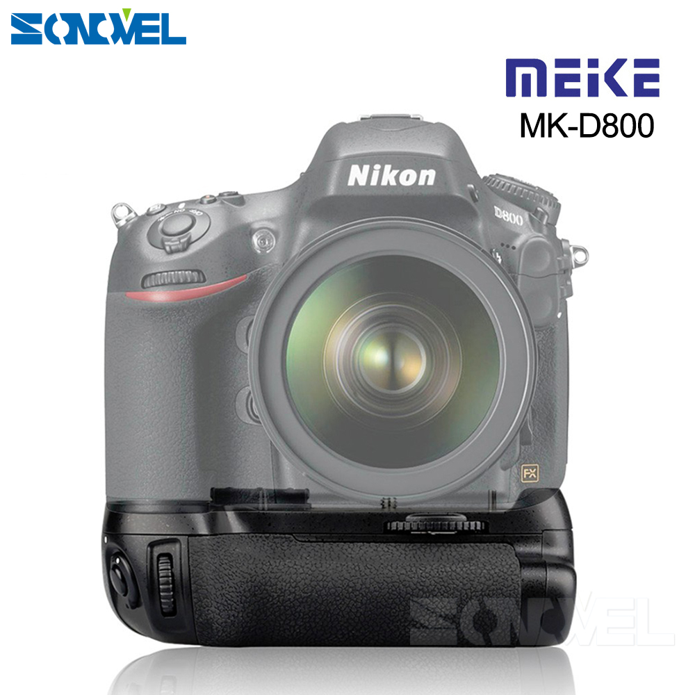 MEIKE D800 Vertical Battery Holder Grip for Nikon DSLR for Nikon D800 D810 Camera as MB-D12 Meike MK-D800 цена