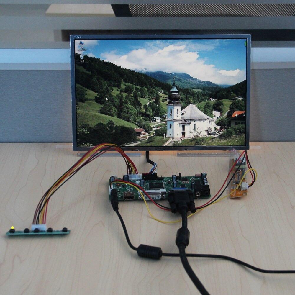 Carte contrôleur Audio HDMI + DVI + VGA + 12 pouces 1280*800 bricolage écran TFT pour B121EW03