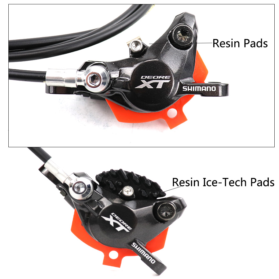 Shimano Deore XT M8000 M8100 Disc Brake Mountain Bike Hydraulic Disc Brake MTB ICE-TECH Left &Right 800/850/900/1400/1500/1600mm
