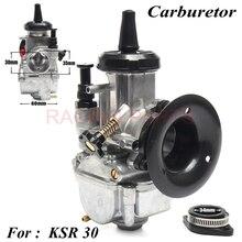 NEW 2018 carburetor FOR KSR 30 MODEL 30mm CARBS evolution KIT EVO carb  Universal