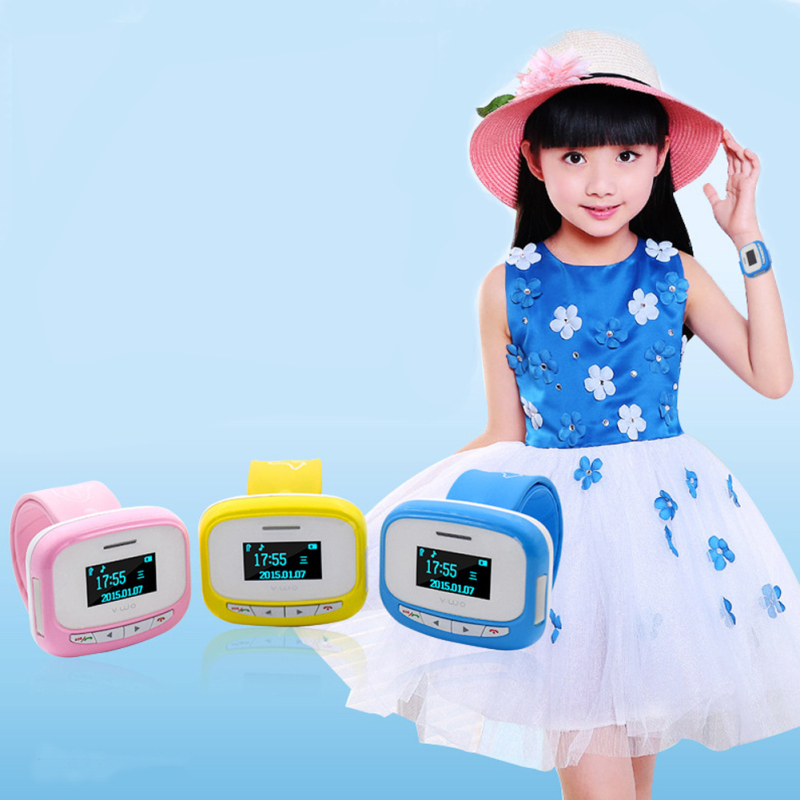 1pc 2017 new smart watches Children kids pupil Watch Anti lost clocks silicone belt GPS Positioning