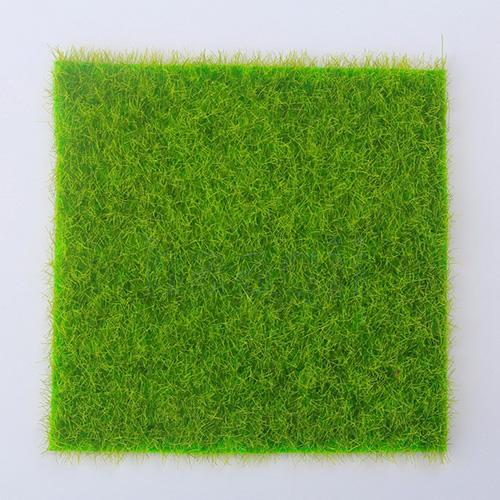 1pc Artificial Grass Fake Lawn Grass Miniature Dollhouse Decor Home Garden Ornament Artificial Lawn Decoration Set Drop Shipping