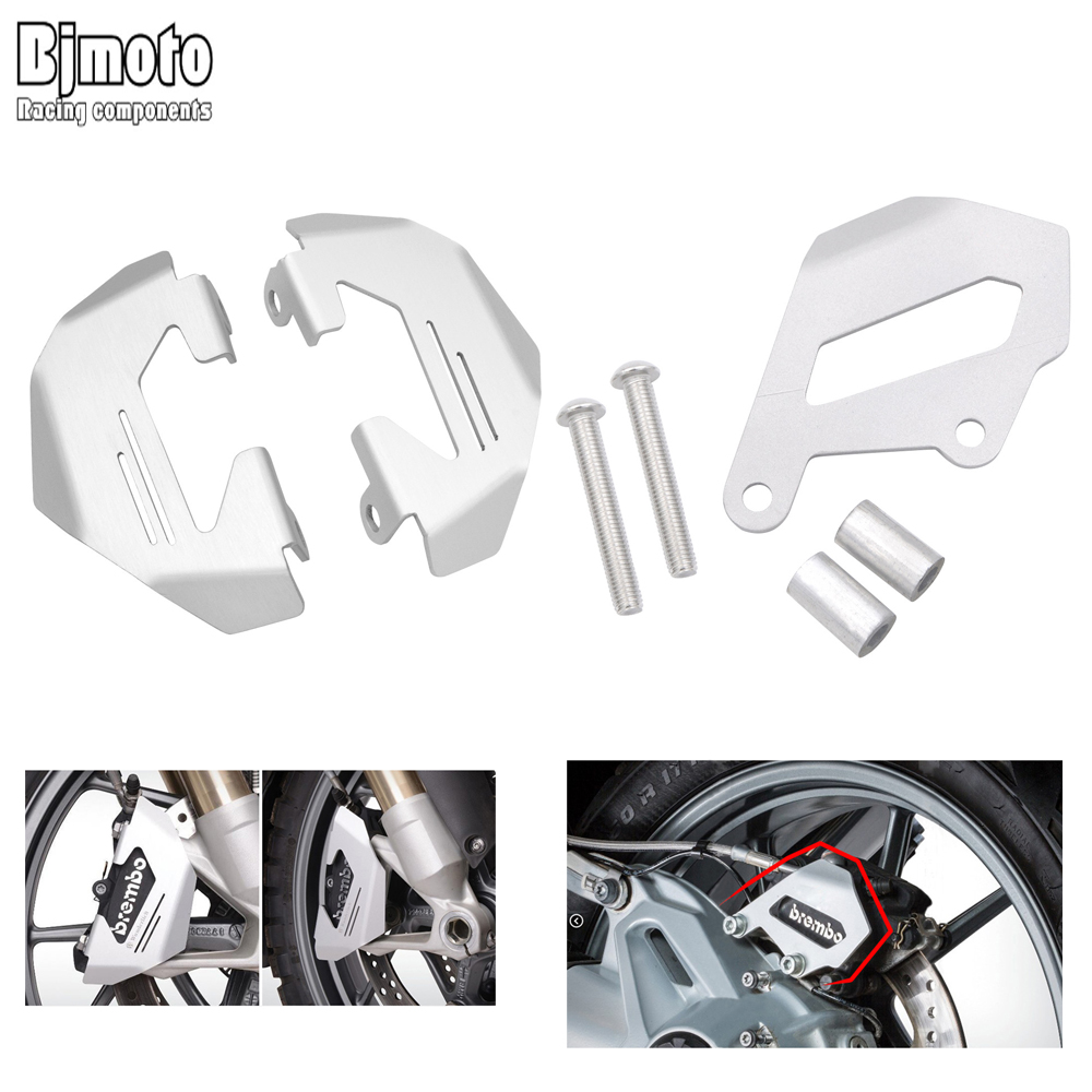 R1200GS ADV Motorcycle Aluminum Front&Rear Brake Caliper Cover Protection Guard For BMW R1200GS LC 2013-2016