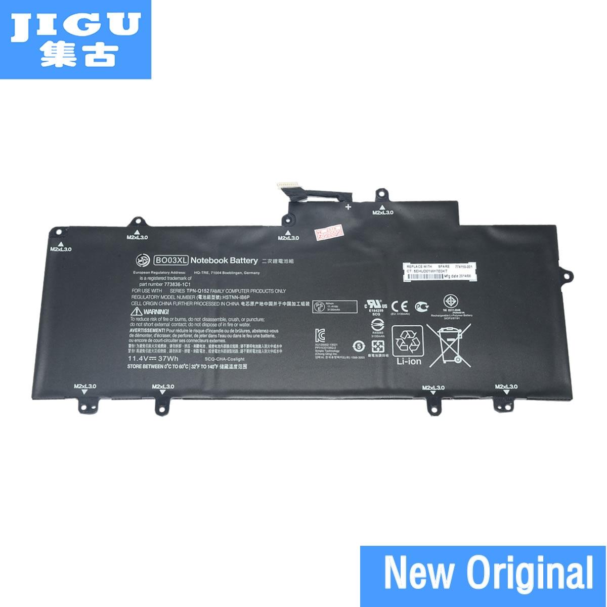 JIGU Original Laptop Battery 751895-1C1 752235-005 BO03XL HSTNN-IB6C 773836-1B1 HSTNN-IB6P 773836-1C1 TPN-Q137 For HP