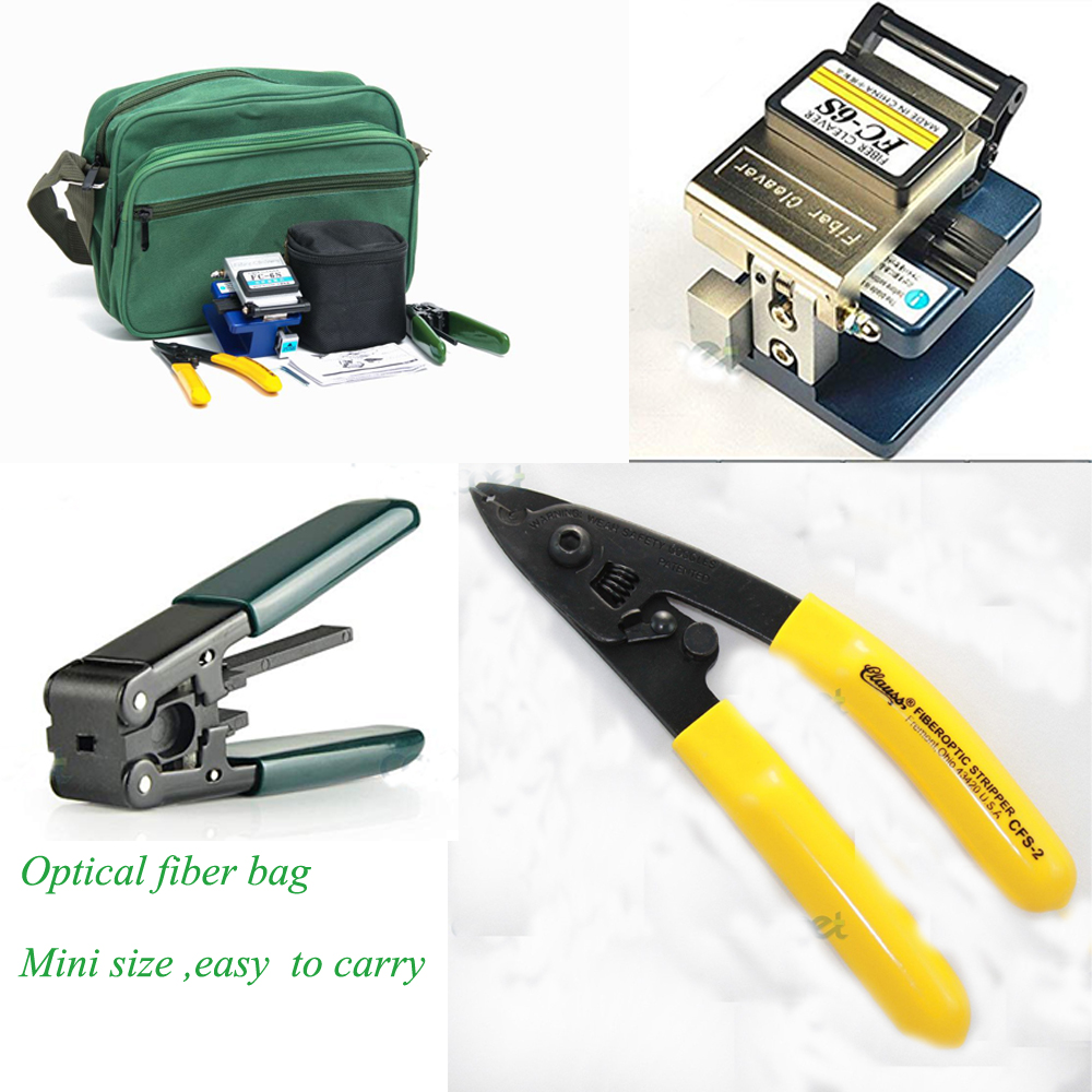Easy to carry KOMSHINE Drop cable stripper+3-holes strippe  + Optical fiber cleaver FC-6SEasy to carry KOMSHINE Drop cable stripper+3-holes strippe  + Optical fiber cleaver FC-6S