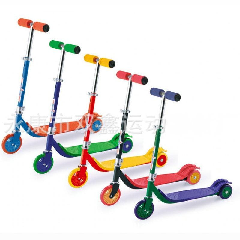XINLILONG Kids Scooter with PU wheel, high strength stunt scooter, height can adjust children scooter цены онлайн