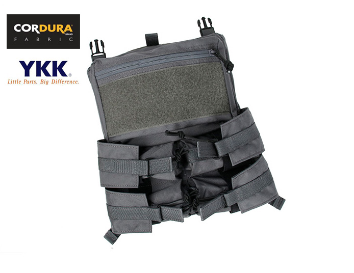 TMC Assaulter Back Panel Pack For 4020 Plate Carrier Wolf Grey(XTC050925)