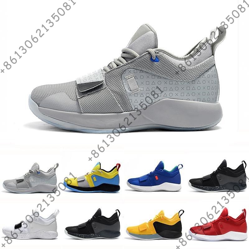 PG 2.5 University Red Opti Yellow Men Basketball Shoes Racer blue White Black Wolf Grey Mens Paul George sports sneakersPG 2.5 University Red Opti Yellow Men Basketball Shoes Racer blue White Black Wolf Grey Mens Paul George sports sneakers