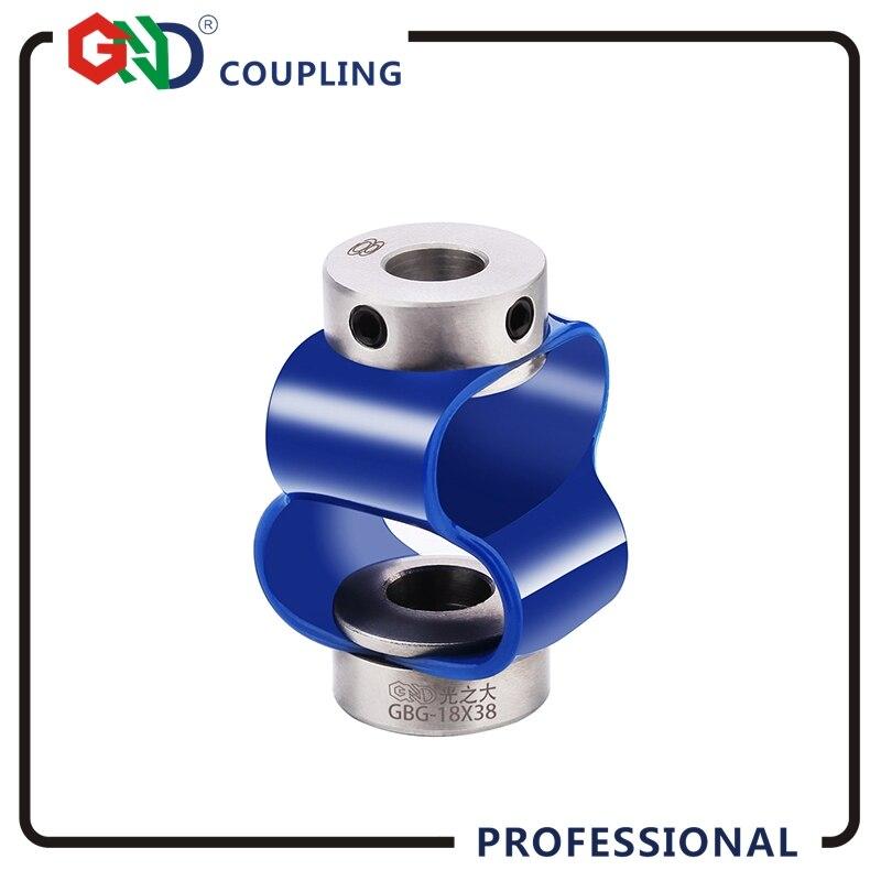 Codeur accouplement En acier Inoxydable spécial TPU 8 polices codeur coupleur flexible pour servo moteur CNC routeur