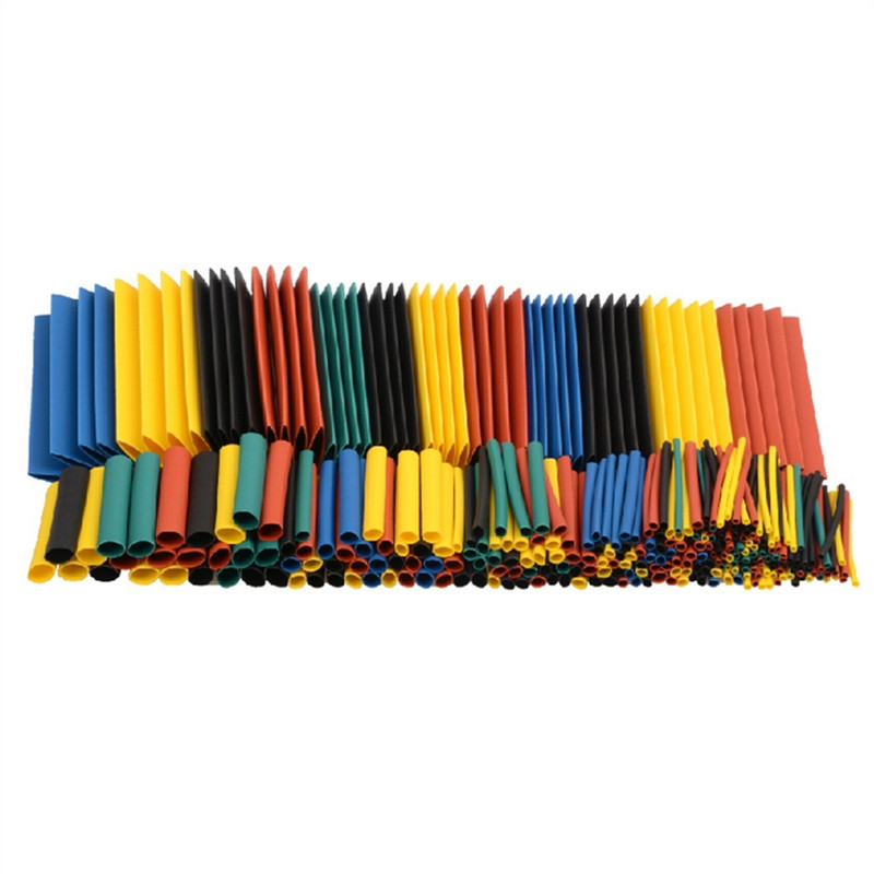 328Pcs/pack Polyolefin Assorted Heat Shrink Tubing Insulation Shrinkable Tube Wrap Wire Cable