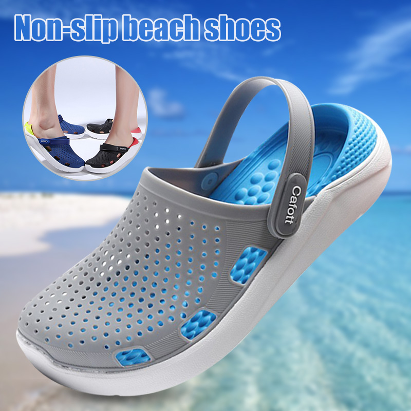 Hot Men Women Classic Clog Comfort Slip On Casual Water Shoe Outdoor Non-slippery Beach Slippers Drag YS-BUY