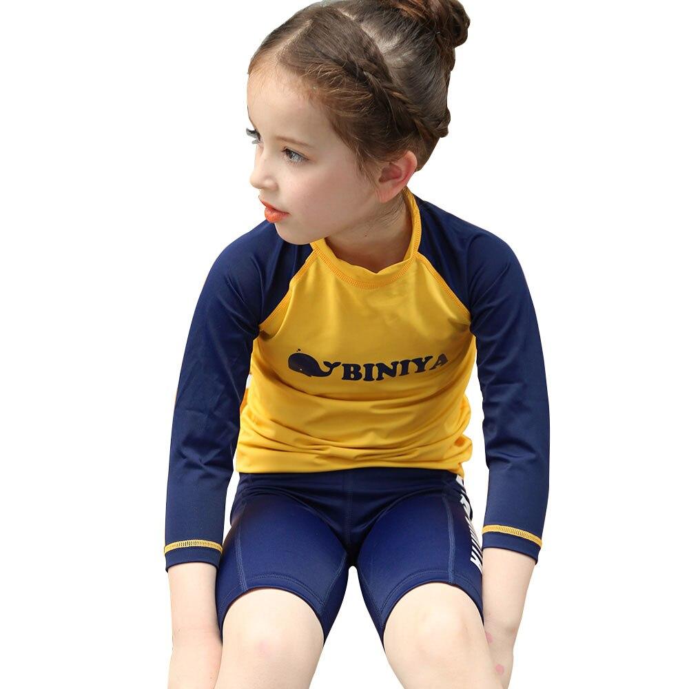 Baby girls and boys rashguard kids swimwear swimsuit sun Rash guard shirts kids