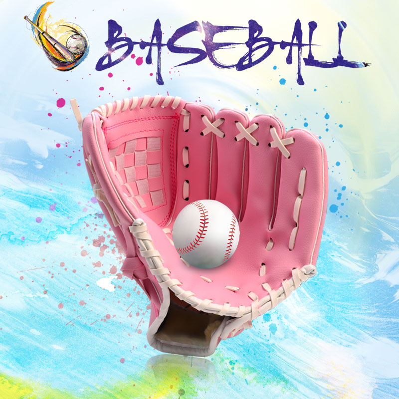 Outdoor Sports Three Colors Baseball Glove  Softball Practice Equipment Size 10.5/11.5/12.5 Left Hand For Adult Man Woman Train
