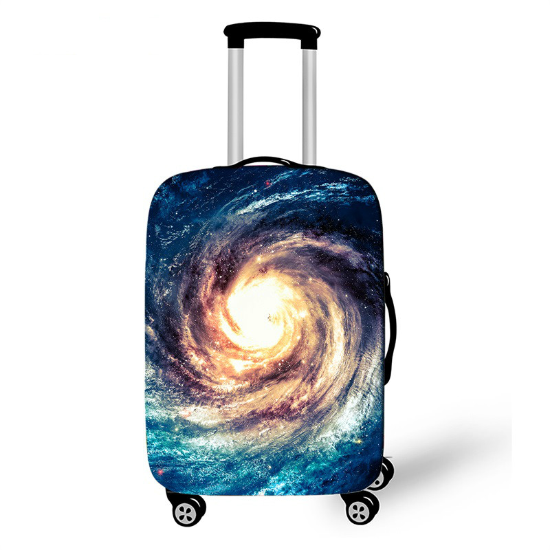 Starry Sky Thicken Luggage Cover 18-32 Inch Case Suitcase Covers Trolley Baggage Dust Protective Case Cover Travel Accessories