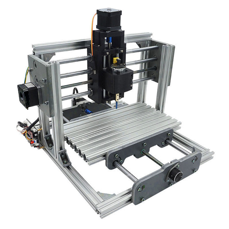 DANIU 2417 Mini 3-axIs DIY CNC Router Wood Craving Engraving Cutting Milling Desktop Engraver Machine 240x170x65mm High Quality image