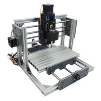 DANIU 2417 Mini 3 axIs DIY CNC Router Wood Craving Engraving Cutting Milling Desktop Engraver Machine 240x170x65mm High Quality