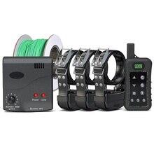 Janpet 개 훈련 전기 개 울타리 시스템 원격 제어 1200 m 송신기 및 충전식 방수 개 수신기 칼라