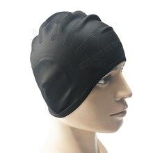 Silicone Waterproof Swimming Caps Elasti