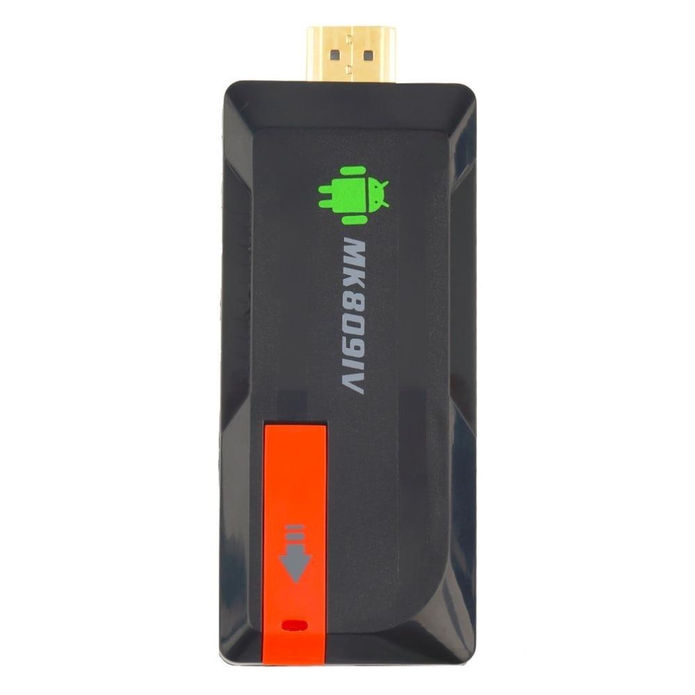 MK809IV Smart TV 2 GB 8 GB Android TV Box sans fil HDMI Dongle pour Android Mini PC Quad Core RK3188T WIFI TV Stick