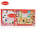 Onshine Baby Toys 69Pcs Magnetic Puzzles Little Bear Dress Changing/Dressing Jigsaw Gift For Girls Baby Puzzle Wooden Toy