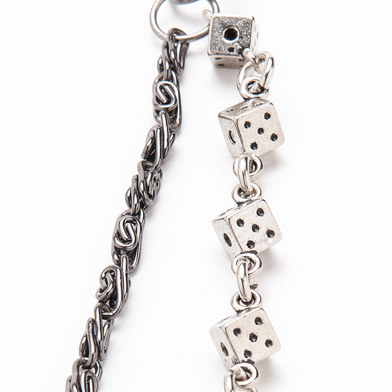 Men's Motorcyle Trendy Keychain Jean Biker Wallet Chains Women Belt Chain Rock Punk HipHop Pant Chain Accessories Jewelry DR34