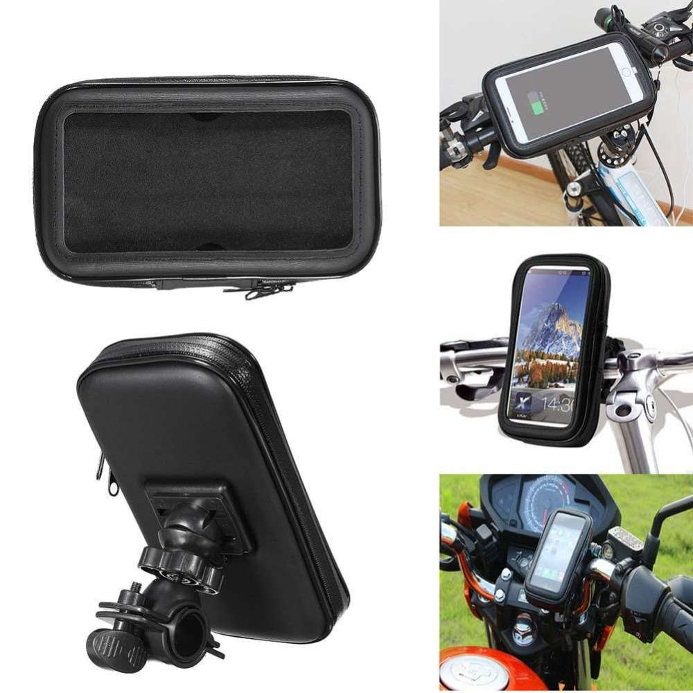 Image 5 - Untoom Bicycle Motorcycle Phone Holder Waterproof Bike Phone Case Bag for iPhone Xs Xr X 8 7 Samsung S9 S8 S7 Scooter Phone Case-in Phone Holders & Stands from Cellphones & Telecommunications