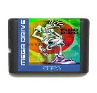 Cartucho de juego Fido Dido tarjeta de juego de 16 bits para el sistema de MegaDrive/Genesis ¡envío directo!