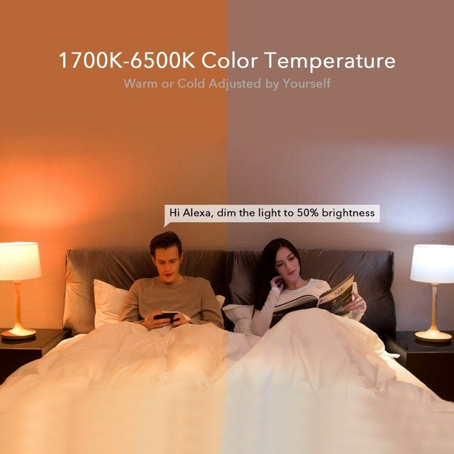[ English Version ] Xiaomi Yeelight Smart LED Bulb Colorful 800 Lumens 10W E27 Lemon Smart Lamp For Mi Home App White/RGB Option 4