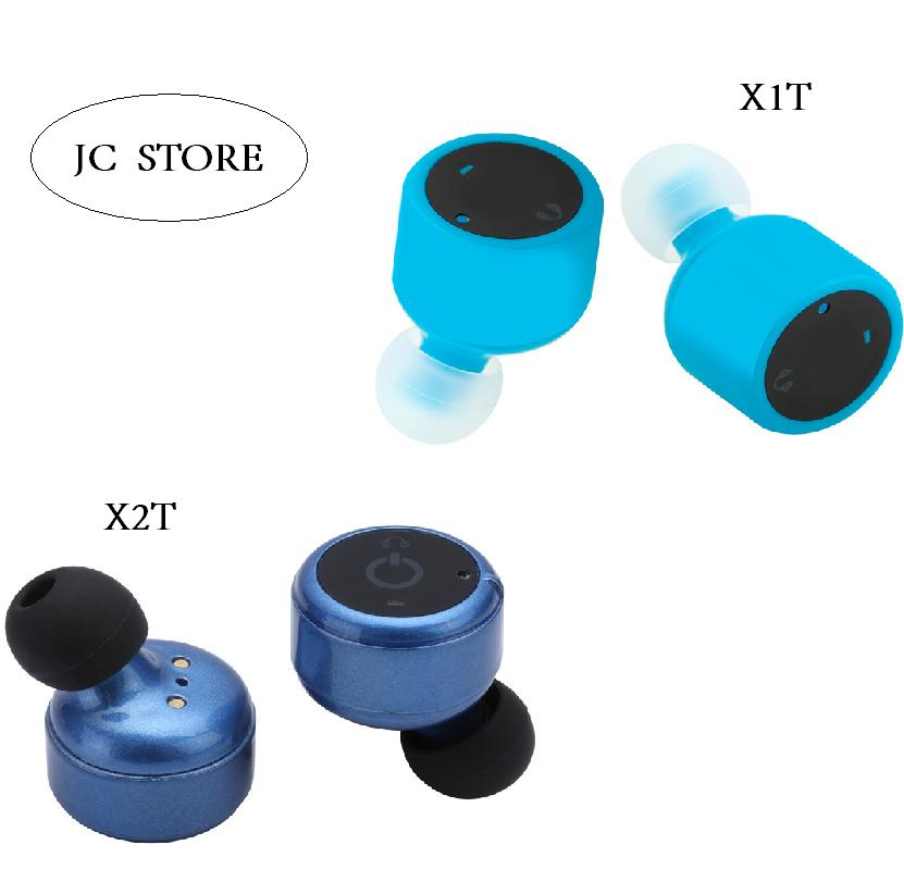 Mini TWS X1T X2T Bluetooth Headsets Wireless Double TWINS Stereo Earphones For Car Earbuds iphone 7 android xiaomi pk Q29 remax 2 in1 mini bluetooth 4 0 headphones usb car charger dock wireless car headset bluetooth earphone for iphone 7 6s android