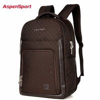 AspenSport 2017 New Men S Backpack For Laptop Waterproof Fashion Unisex Business Backpack Women Notebook Bag