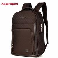 AspenSport 2017 New Men S Backpack For Laptop Waterproof Fashion Unisex Business Backpack Women Notebook Bag